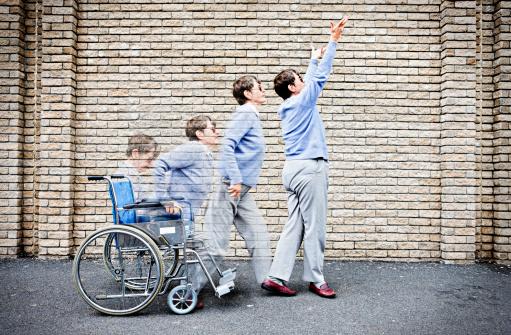 Wheelchair miracle