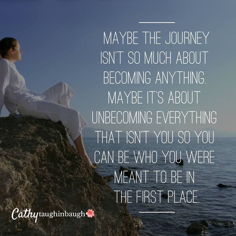 Unbecoming everything