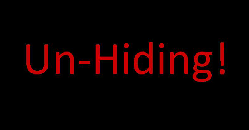 Un-Hiding - small